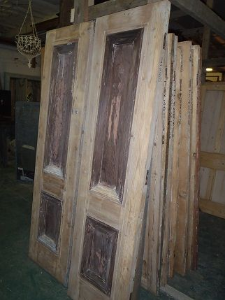 Pine Doors x 2