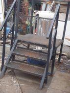 Portakabin metal steps